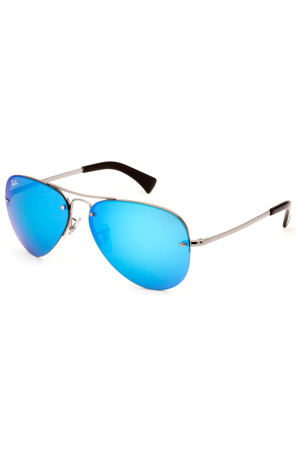 Женские солнцезащитные очки RAY-BAN синего цвета, арт. 3449-004/55   Фото 2