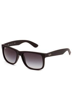 Мужские солнцезащитные очки RAY-BAN черного цвета, арт. 4165-601/8G | Фото 1