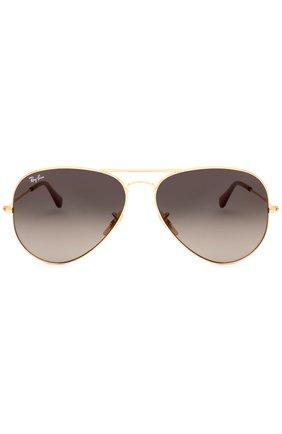 Мужские солнцезащитные очки RAY-BAN золотого цвета, арт. 3025-181/71 | Фото 2