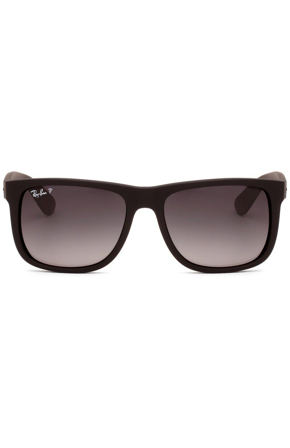 Женские солнцезащитные очки RAY-BAN темно-коричневого цвета, арт. 4165-622/T3 | Фото 1
