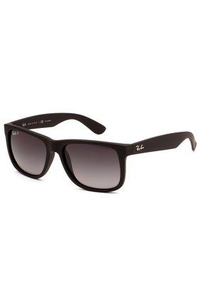 Женские солнцезащитные очки RAY-BAN темно-коричневого цвета, арт. 4165-622/T3 | Фото 2