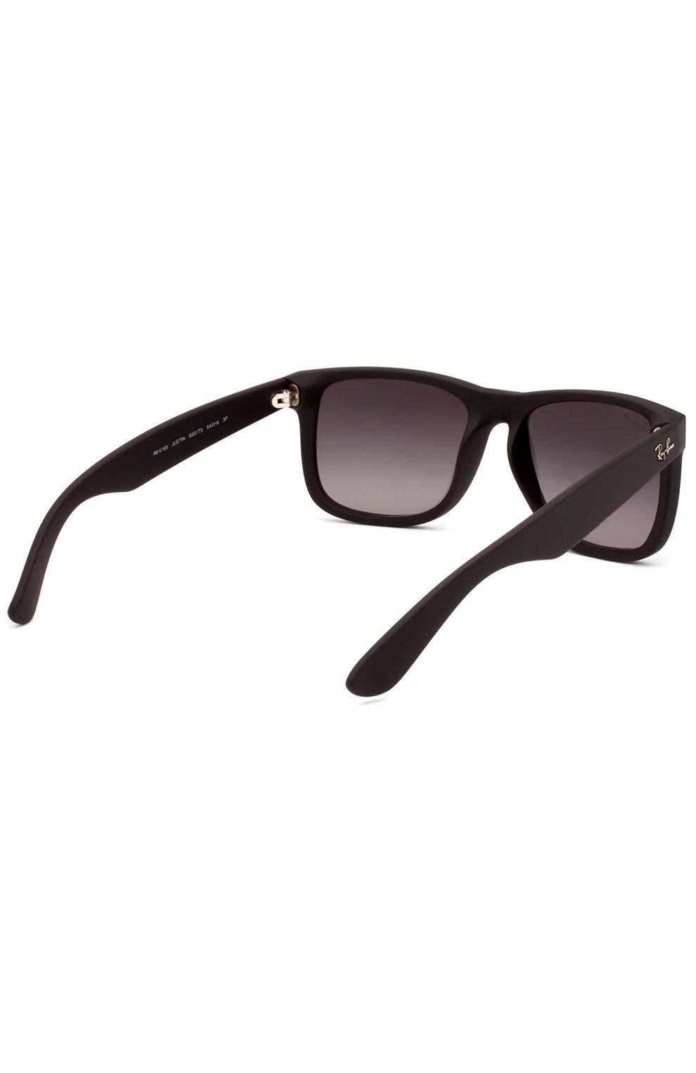 Женские солнцезащитные очки RAY-BAN темно-коричневого цвета, арт. 4165-622/T3 | Фото 3