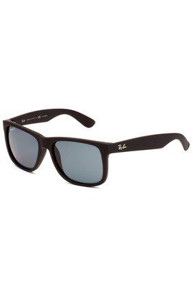 Мужские солнцезащитные очки RAY-BAN черного цвета, арт. 4165-622/2V | Фото 1