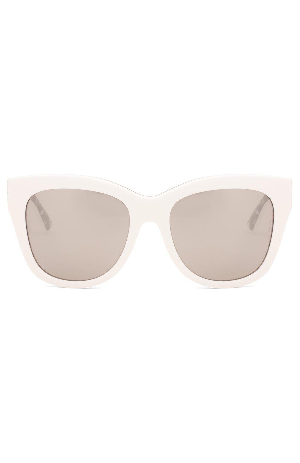 Женские солнцезащитные очки DOLCE & GABBANA белого цвета, арт. 4270-30236G | Фото 1