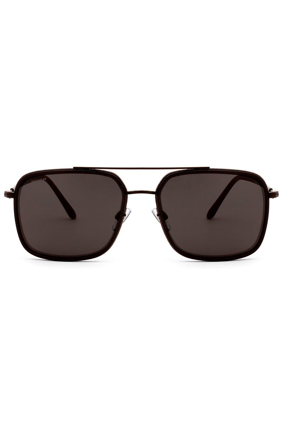 Женские солнцезащитные очки GIORGIO ARMANI коричневого цвета, арт. 6031-300187 | Фото 1