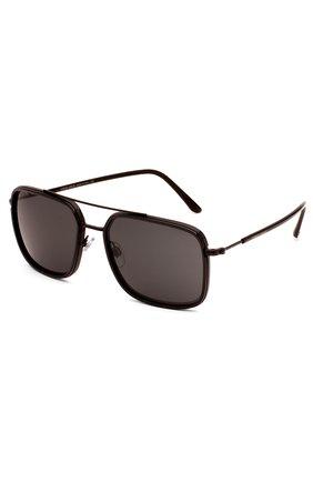 Женские солнцезащитные очки GIORGIO ARMANI коричневого цвета, арт. 6031-300187 | Фото 2