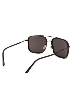 Женские солнцезащитные очки GIORGIO ARMANI коричневого цвета, арт. 6031-300187 | Фото 3