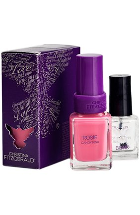 "Лак для ногтей ""Розовая карамель"" ROSIE Candy Pink + BOND | Фото №1"