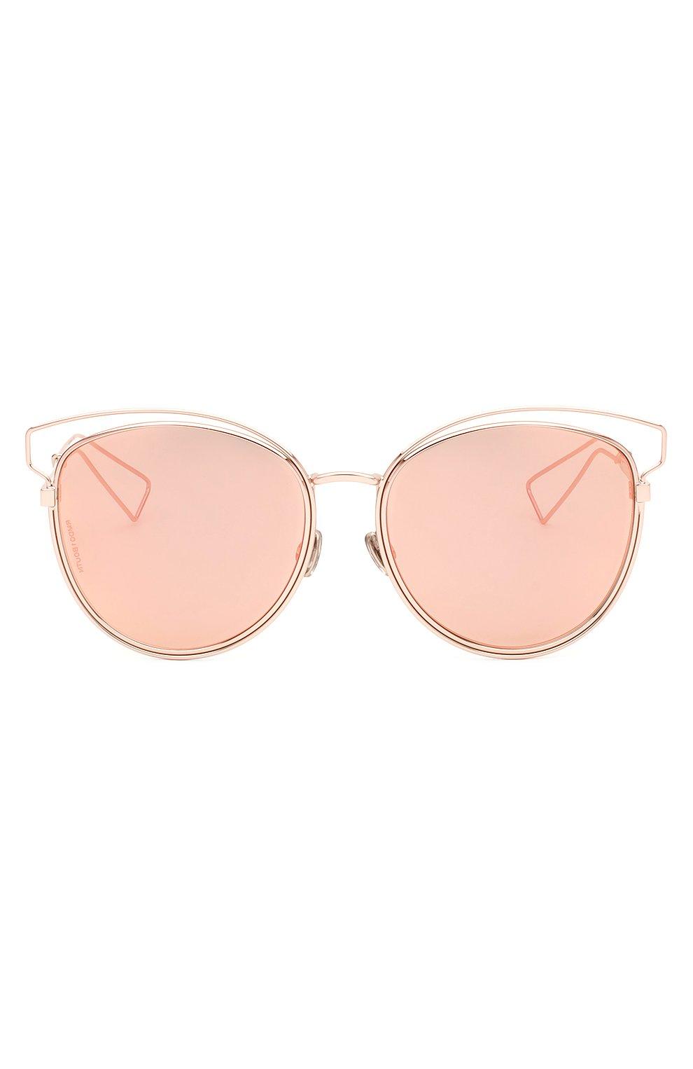 Женские солнцезащитные очки DIOR розового цвета, арт. DI0RSIDERAL2 JA0 | Фото 1
