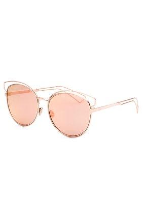 Женские солнцезащитные очки DIOR розового цвета, арт. DI0RSIDERAL2 JA0 | Фото 2