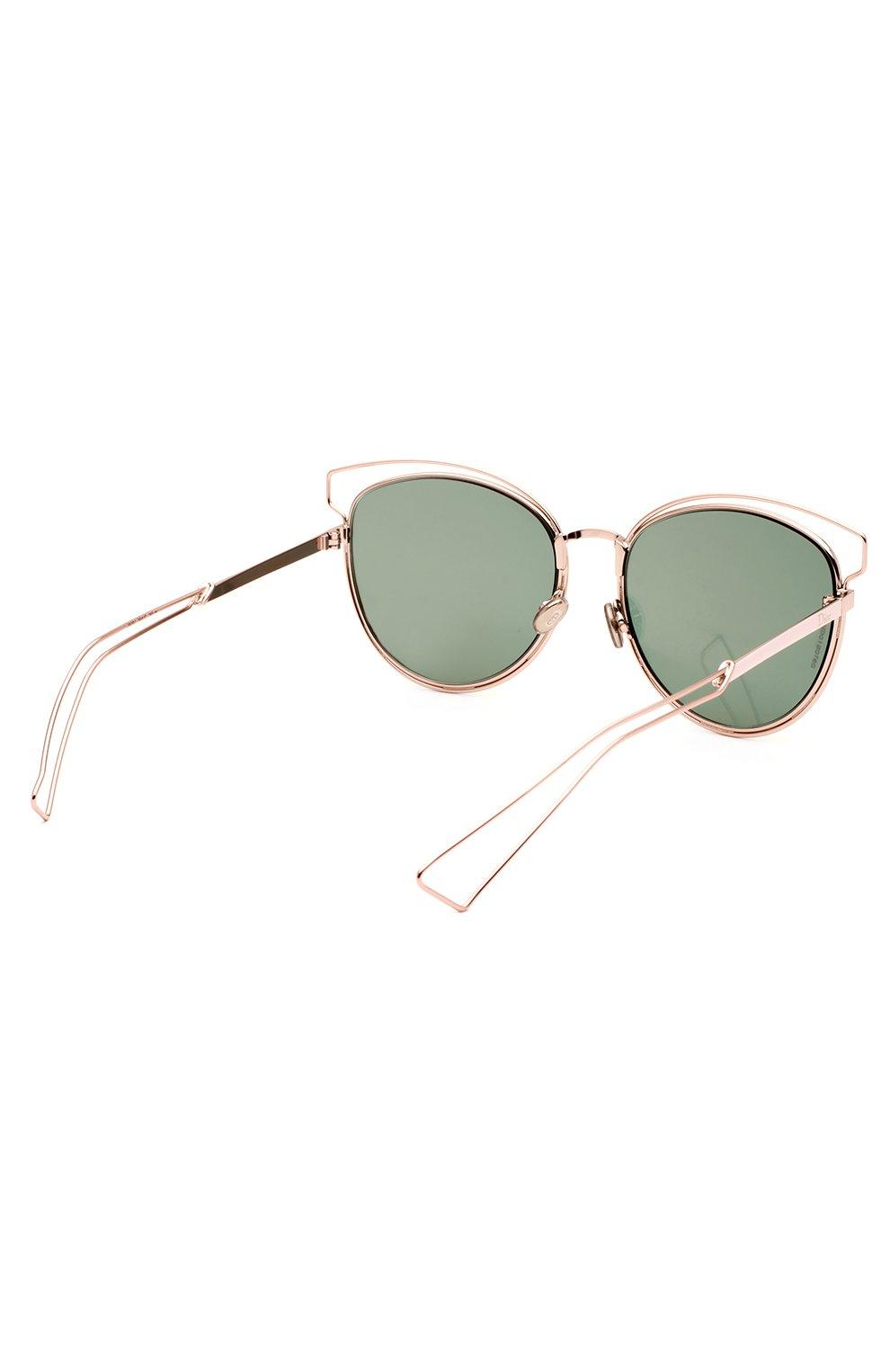 Женские солнцезащитные очки DIOR розового цвета, арт. DI0RSIDERAL2 JA0 | Фото 3