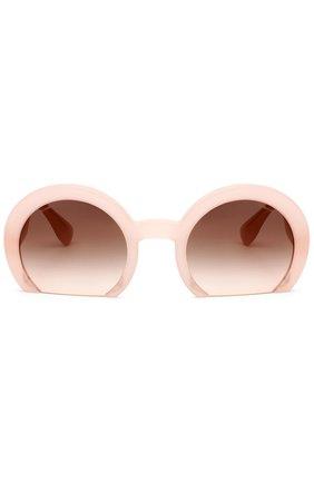 Женские солнцезащитные очки MIU MIU розового цвета, арт. 07QS-UAE4K0 | Фото 1