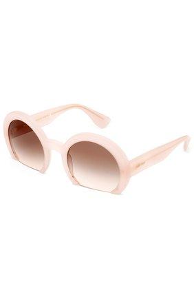 Женские солнцезащитные очки MIU MIU розового цвета, арт. 07QS-UAE4K0 | Фото 2