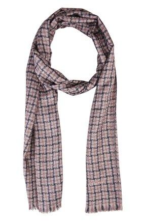 Мужской шарф BRIONI сиреневого цвета, арт. 03RC/P548J   Фото 1