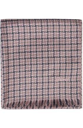 Мужской шарф BRIONI сиреневого цвета, арт. 03RC/P548J   Фото 2