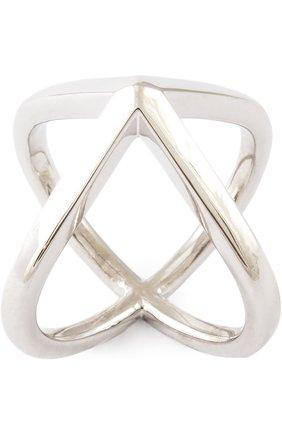Кольцо Xr серебряное | Фото №1
