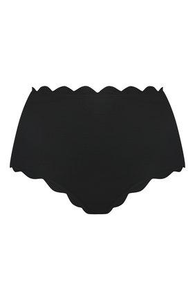 Женский плавки-бикини с фестонами MARYSIA черного цвета, арт. SB073 | Фото 1