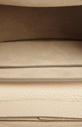 Сумка Drew mini на цепочке Chloé кремовая цвета   Фото №5