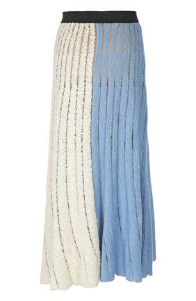 Вязаная юбка Aviu серая | Фото №1