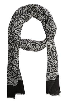 Шарф Dolce & Gabbana черно-белый | Фото №1