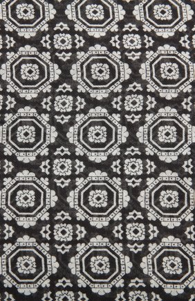 Шарф Dolce & Gabbana черно-белый | Фото №3