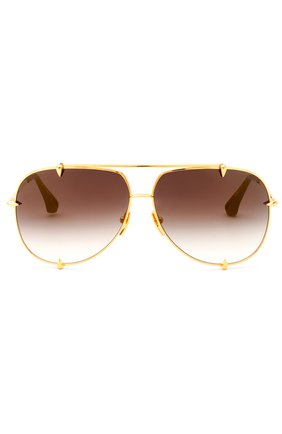 Солнцезащитные очки Dita золотые   Фото №1