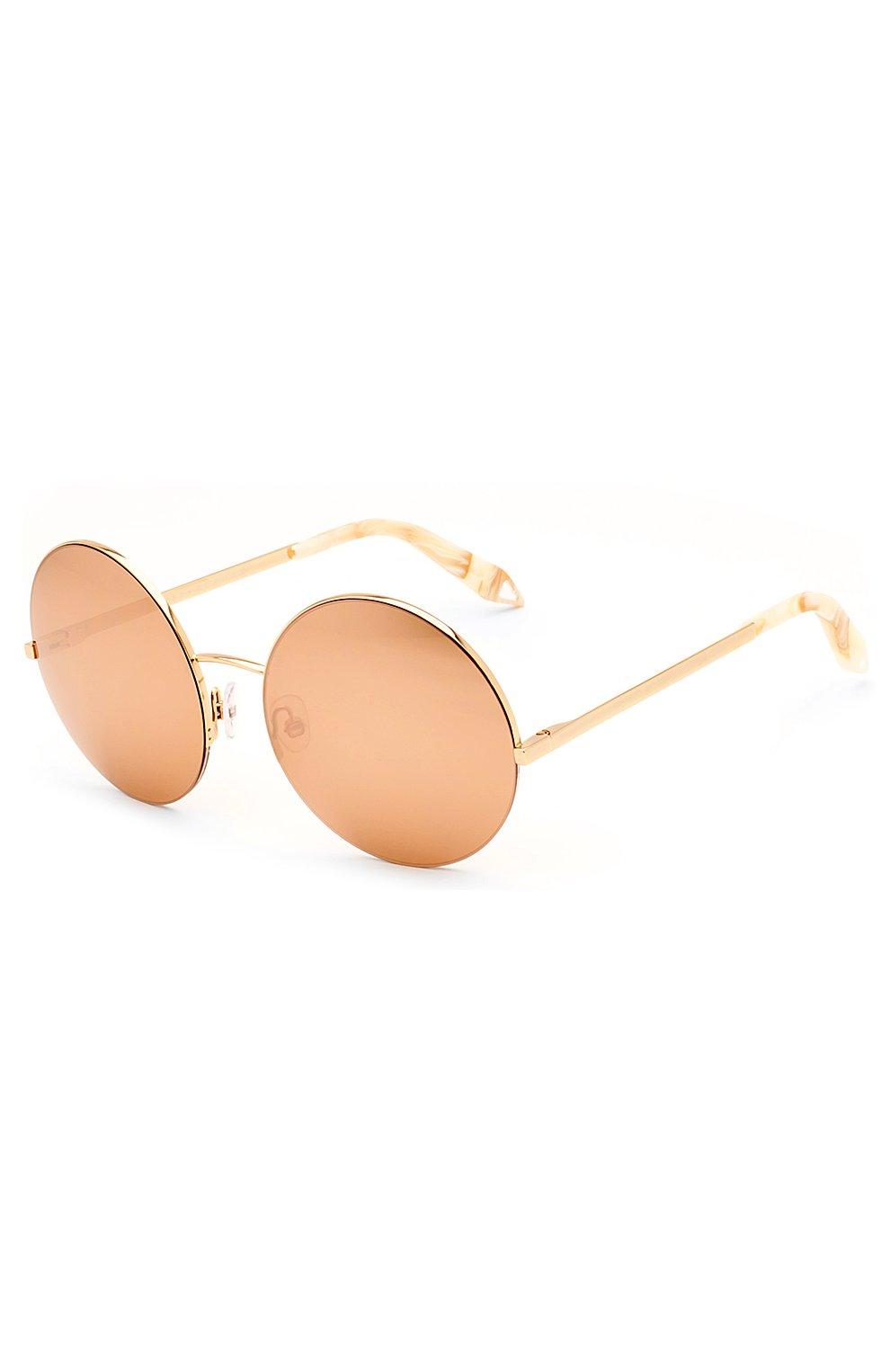 Женские солнцезащитные очки VICTORIA BECKHAM золотого цвета, арт. S95 C07 | Фото 2