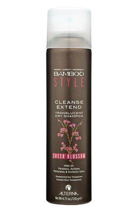 Сухой спрей-шампунь для свежести и объема c ароматом весенних цветов Alterna | Фото №1