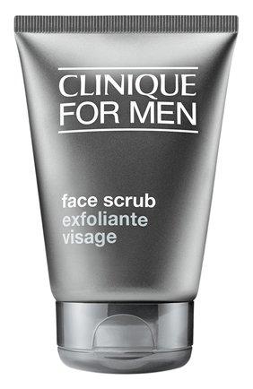 Мужского скраб для лица для мужчин CLINIQUE бесцветного цвета, арт. 67F9-01   Фото 1