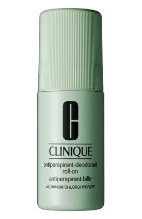 Женский шариковый дезодорант-антиперспирант CLINIQUE бесцветного цвета, арт. 6642-00 | Фото 1