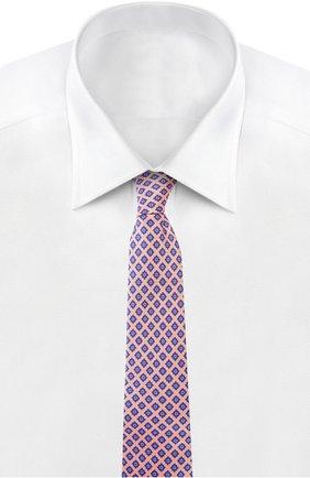 Мужской галстук KITON оранжевого цвета, арт. KA/C5D15 | Фото 2