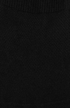 Мужские хлопковые подследники PANTHERELLA черного цвета, арт. 3000F | Фото 2