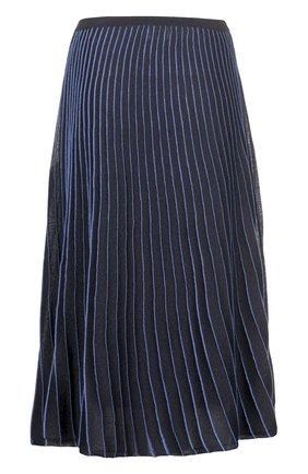 Вязаная юбка Maliparmi синяя   Фото №1