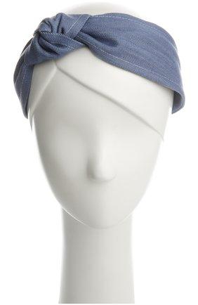 Ободок Jennifer Ouellette голубого цвета   Фото №1