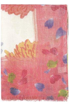 Мужские шарф с принтом KITON розового цвета, арт. D41741/7L81 | Фото 2