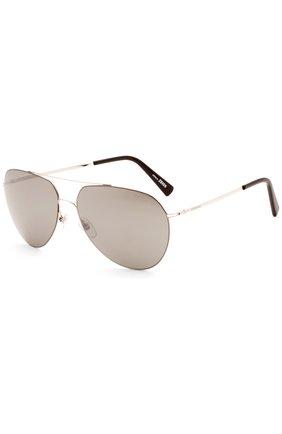 Солнцезащитные очки Montblanc темно-коричневые | Фото №1