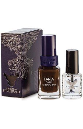 "Лак для ногтей ""Горький шоколад"" TANIA Dark Chocolate + BOND | Фото №1"