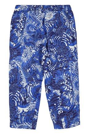 Детские брюки Jean Paul Gaultier синего цвета | Фото №1