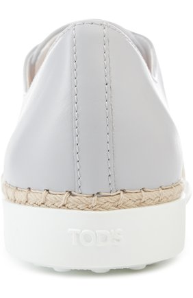Слипоны Tod's светло-серые | Фото №3