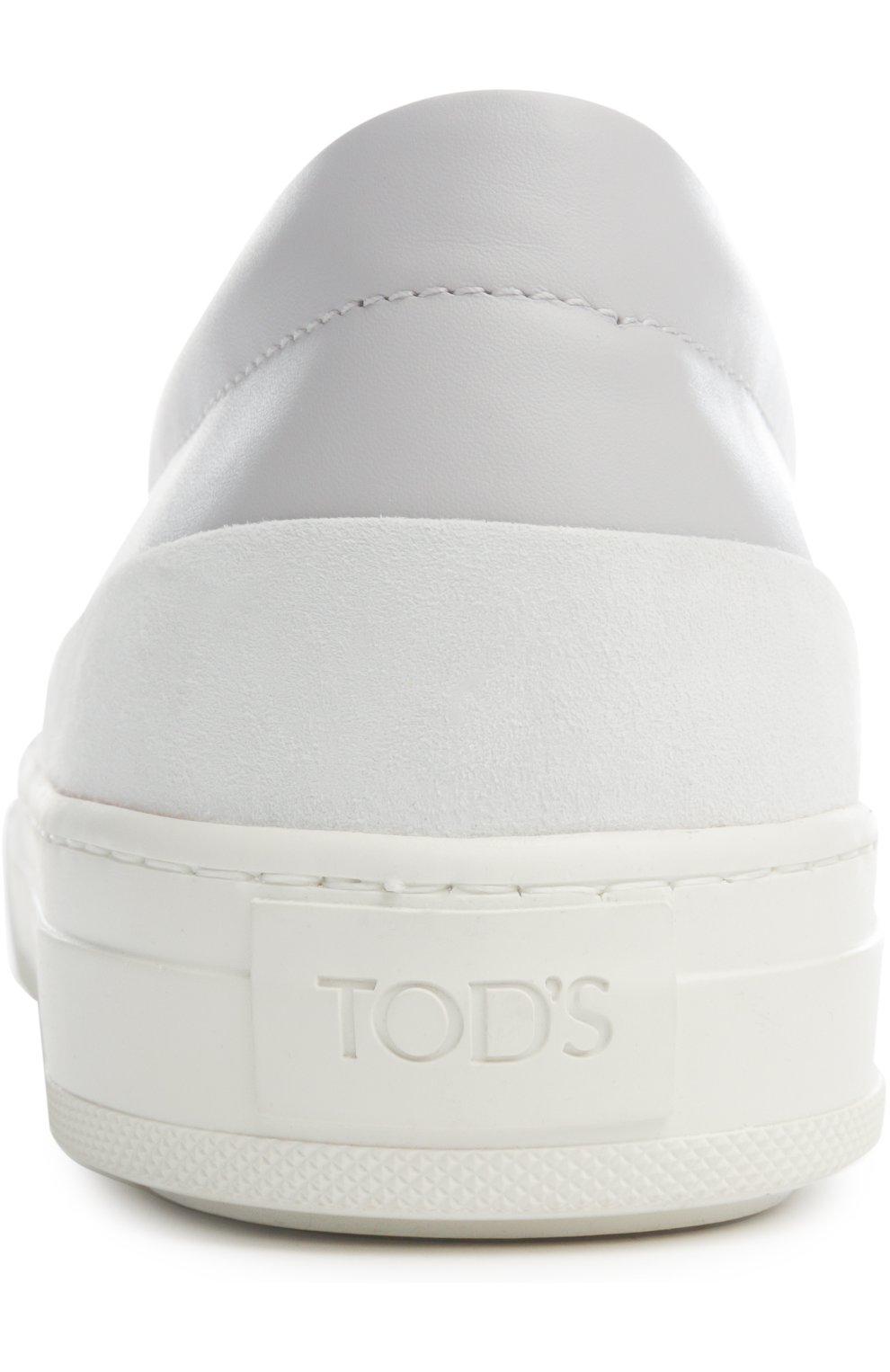 Слипоны Tod's серые | Фото №3
