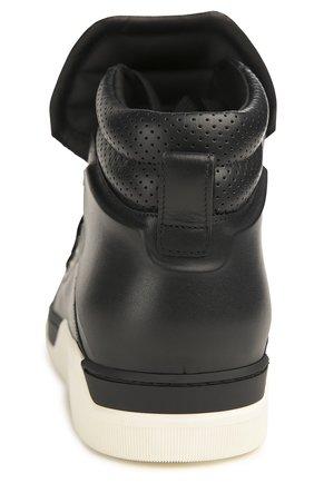 Кожаный кеды Benelux на шнуровке | Фото №3