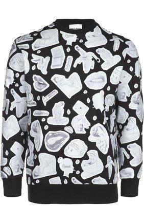 Пуловер джерси One-T-Shirt черный | Фото №1