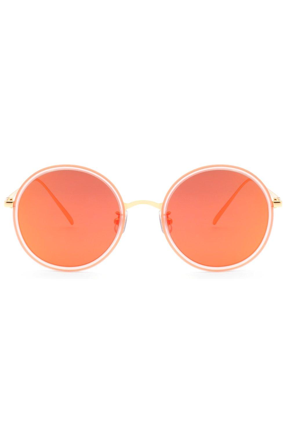 Женские очки солнцезащитные GENTLE MONSTER оранжевого цвета, арт. G0LD FISH 2 P1(M) | Фото 1