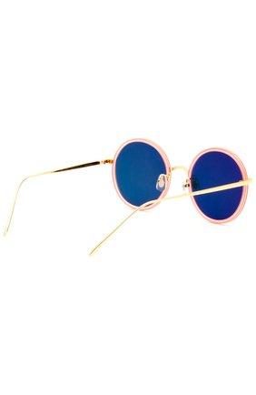 Женские очки солнцезащитные GENTLE MONSTER оранжевого цвета, арт. G0LD FISH 2 P1(M) | Фото 3
