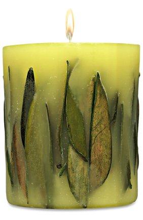 Цилиндрическая свеча с ароматом чая | Фото №1