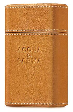 Женский кожаный чехол для дорожного спрея ACQUA DI PARMA бесцветного цвета, арт. 25021ADP | Фото 1