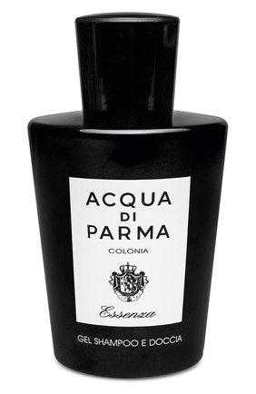 Мужского гель для тела и волос colonia essenza ACQUA DI PARMA бесцветного цвета, арт. 22020 | Фото 1