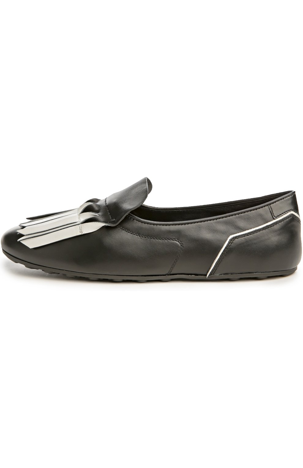 Туфли домашние Gomma с бахромой | Фото №1