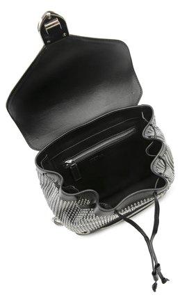 Кожаный рюкзак с металлическими заклепками | Фото №4