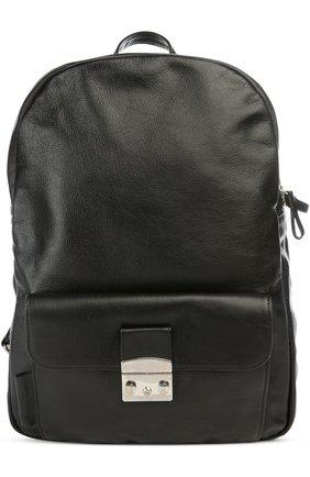 Рюкзак с косметичкой Andrea Incontri черный | Фото №1